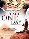 Film Poster Peace One Day