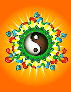 Bagua, yin and yang