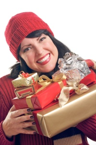 Holiday Stress, gifting, upbeat living