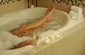 Stress, soak, upbeat living, detox