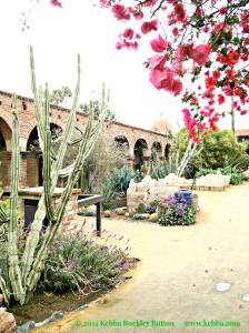 Old Mission San Juan Capistrano © 2014  Kebba Buckley Button, M.S., O.M.  World Rights Reserved.