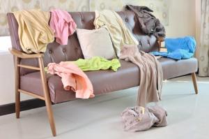 Stuff stress, upbeat living, clutter, stress