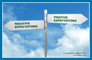 Stress, expectations, upbeat living