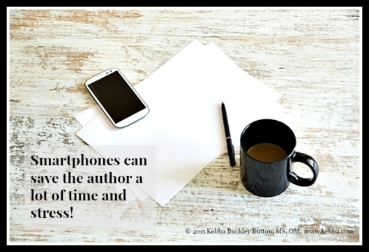Effective author, author stress, stress, smartphones