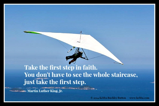 2014 Take the first step in faith-MLK-Brazil hanglider