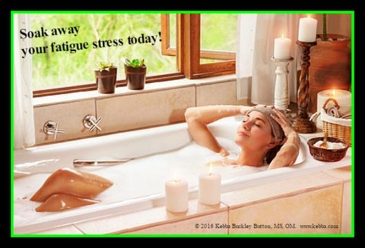 Stress, Fatigue Stress, Upbeat Living, Kebba Buckley Button