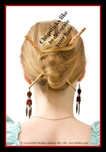 stress, chopsticks, Upbeat Living, Kebba Buckley Button, creativity
