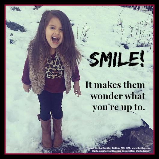 stress, Upbeat Living, smile, laugh, paraprosdokians
