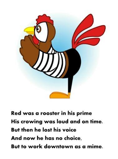 2021 Rooster poem- pinterest