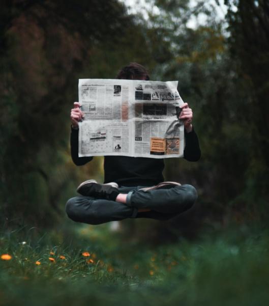 stress, news fast